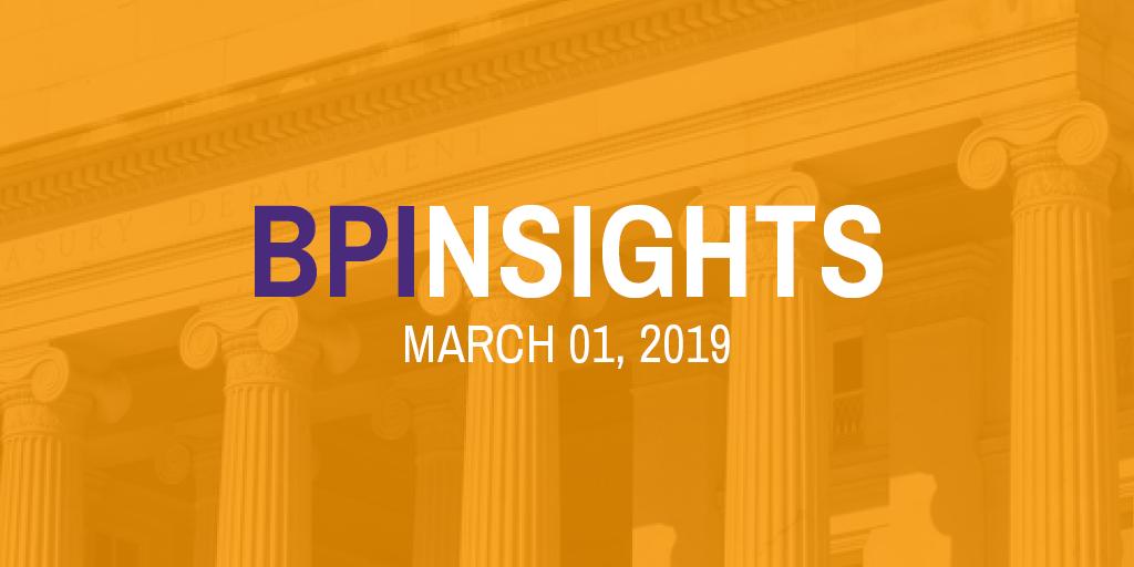 BPInsights: March 01, 2019
