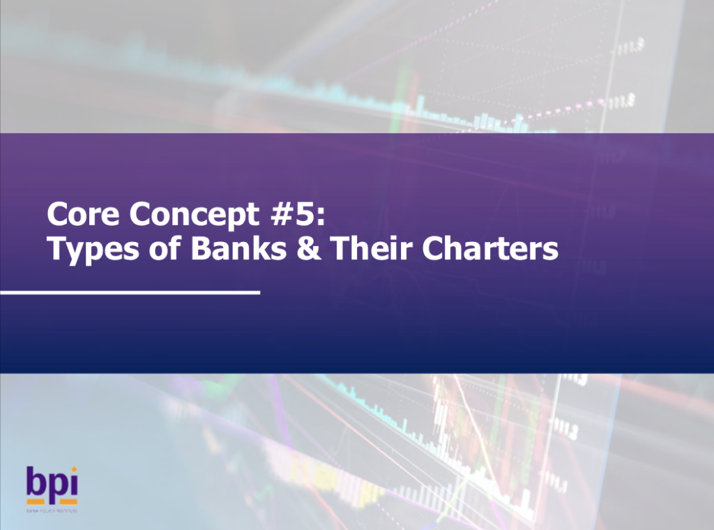 Types of Banks & Their Charters