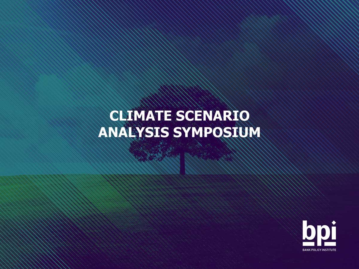 Climate Scenario Analysis Symposium