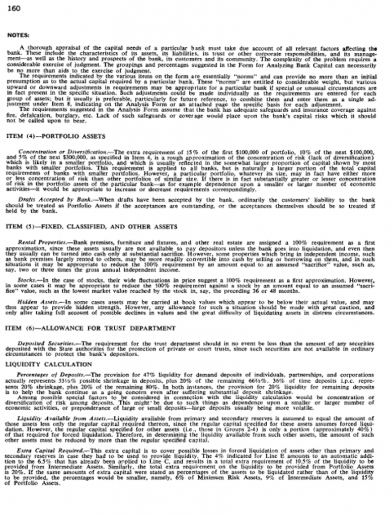 Appendix 1: F.R. 363 Form from Reappraisal of the Federal Reserve Discount Mechanism, Volume 3