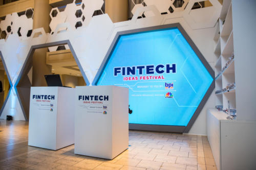 FinTech Ideas Festival Registration Desk