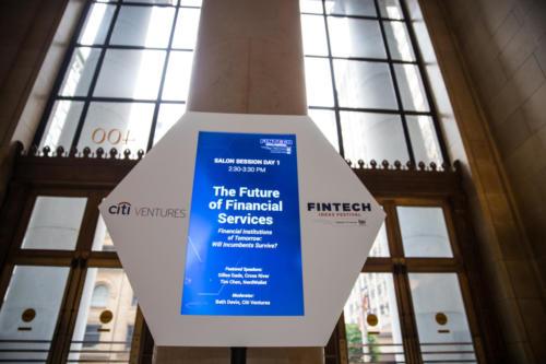 FinTech Ideas Festival Display Screens